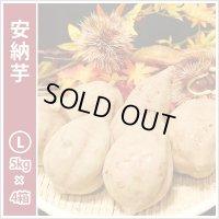 安納芋 Lサイズ(4箱セット)  今シーズンの販売は終了いたしました。誠にありがとうございました。