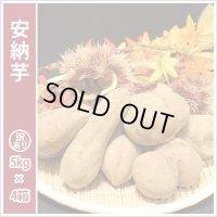 訳あり安納芋(4箱セット)  今シーズンの販売は終了いたしました。誠にありがとうございました。